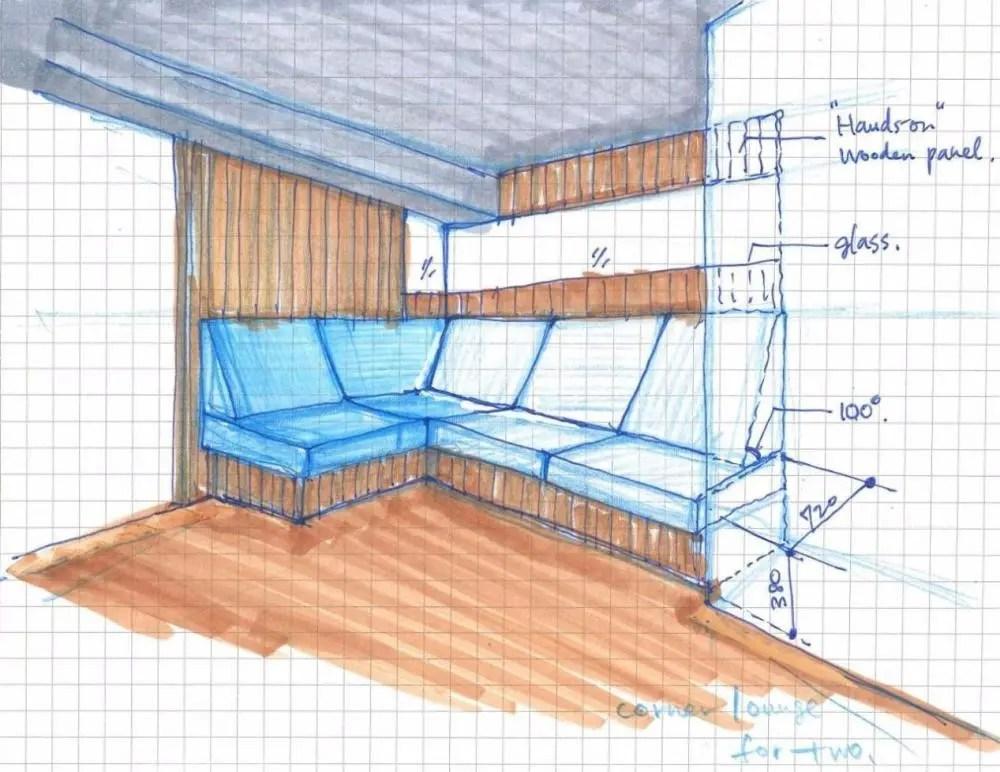 kitchen banquette shelf unit 合肥78平 回 型房 天天睡木板厨房比客厅大 看到露台不想走 厨房长凳