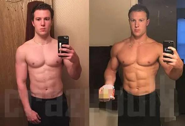 自然健身的極限和使用類固醇,兩種身材有何差距?