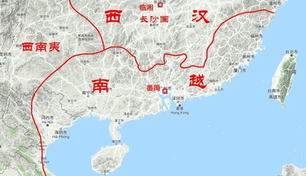 漢文帝怎樣讓南方強鄰南越國再次臣服?