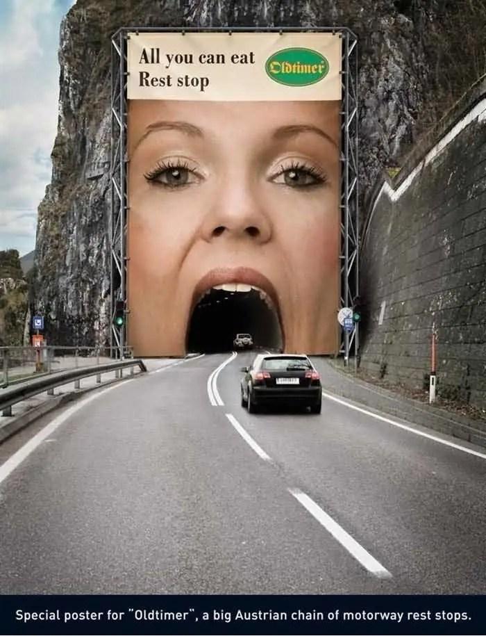 大膽的創意廣告搞笑眾人,最後一張真的很污