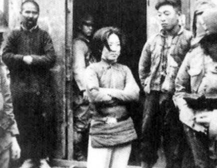 抗戰時被日本人侮辱的中國女兵!面對敵人絕不低頭!