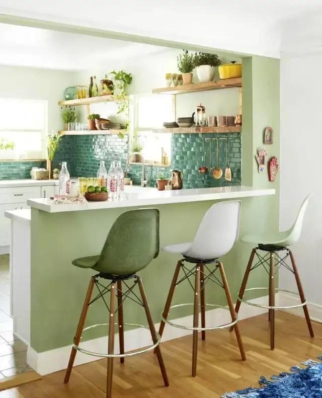 nice kitchen tables modern curtains 骨灰级漂亮的厨房设计 空间利用 大 有诀窍 在桌子上夹插木板当饭桌 这样的设计棒棒的
