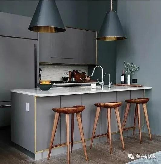 kitchen divider sink backsplash 想要高颜值又实用的厨房吧台 十款吧台推荐不容错过 天天快报 想要新家厨房实用又有高颜值 不妨试试将吧台设计搬入我们的厨房吧 小小吧台不仅能够作为隔断来帮助厨房分隔出空间区域 还能作为休闲区 小餐厅 工作区等 可谓是