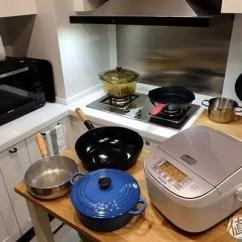 Kitchen Islands Ikea And Bath Remodeling 这么装修 让你的厨房至少耐用二十年 天天快报 已经带了精装修 没法做厨房岛台 只好另买了一个宜家的厨房岛台推车 发现意外地好用 还扩大了不少操作面积