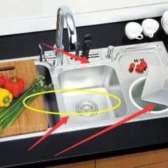 Delta Kitchen Sinks Suite Deals 厨房最不该选择双水槽 选择这种实用还提高效率 天天快报 我们在给厨房里面装修水槽的时候 我们可以选择综合处理台的 这样我们就可以把家里面的砧板镶嵌在水槽的边缘了 遮掩我们使用起来也是非常方便的