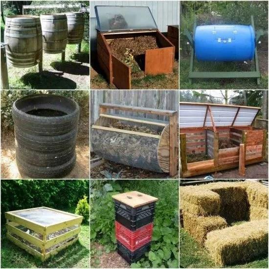 kitchen compost container cabinets newark nj 想要在家里diy堆肥 下面这12个实用的创意就能轻松做到 天天快报 堆肥是非常天然 廉价的养花方法 堆肥对促进植物花卉的生长是非常棒的 还能改善土壤的质量 很多朋友家院子或盆土都非常贫瘠 就可以适当混入一些堆肥改善 可以促进