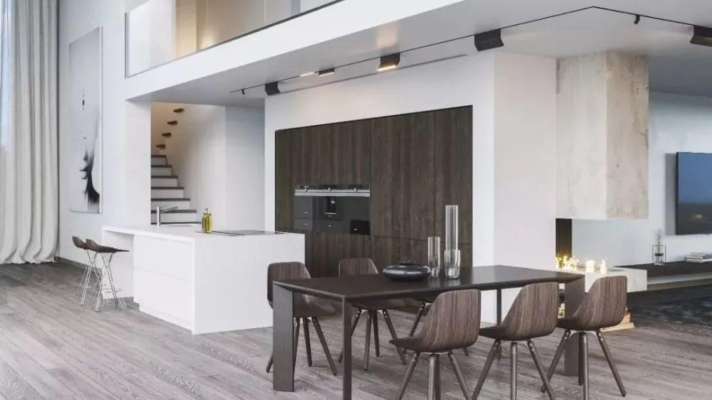 best kitchen island cabinets amish 看了100套开放式厨房设计 选出最好的6套送给你 天天快报 别墅一楼 开放式餐厨设计 岛台聚焦 集成电器干净利落