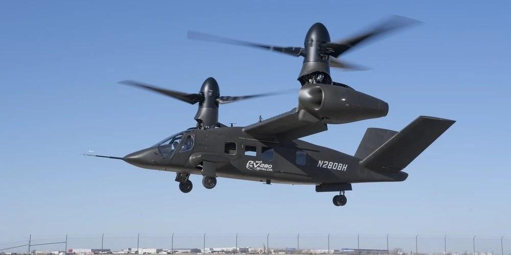 [轉帖]黑鷹末日:美軍V280傾轉旋翼機一個頂四! 【貓眼看人】-凱迪社區