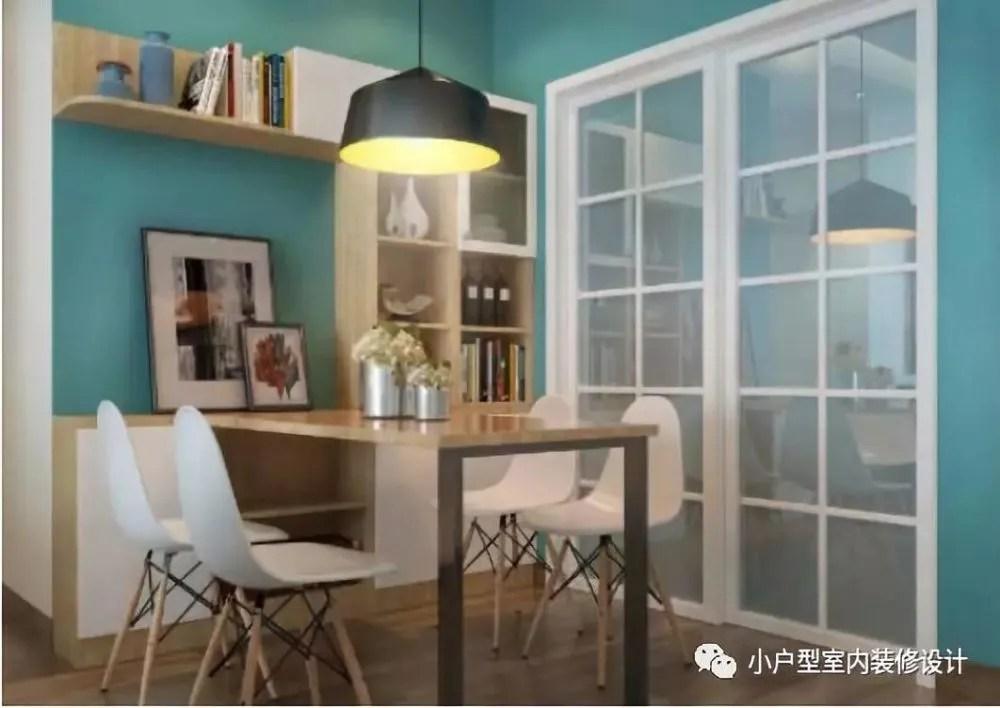kitchen table set with bench ikea and chairs 小户型的餐厅这样设计 小空间更要充分利用起来 天天快报 选择一个稍长的角落 搭配简约线条的桌椅 能够解决家中人多用餐的问题