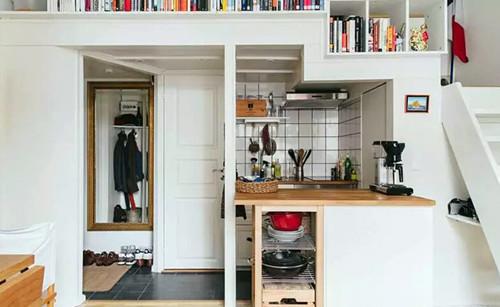 cheap kitchen remodels countertops laminate 这样改造出租房 曾经的出租屋改造成这样 天天快报 破旧出租房便宜改造diy 卧室改造