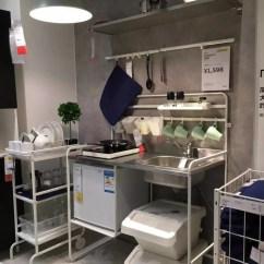 Wire Kitchen Cart Coffee Themed Rugs 套路 对厨房绝望的你 一定还不知道这11个秘密 天天快报 储物不够补充一个小推车 只保留高频的使用物品 上层碗具 中层调料 底部清洁工具 当真站着不动就把能饭做好