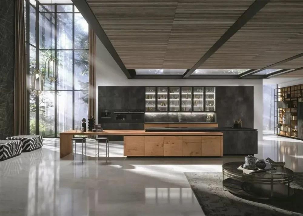 european kitchens french country kitchen decor 现代厨房设计最新发展趋势 早看早知道 天天快报 集成厨房是继整体橱柜之后的一个新型厨房模式 一对一的在厨房装修上进行优化设计 让厨房更具人性化 snaidero是模式化集成厨房的先行者 一直引领着欧洲 乃至世界厨房