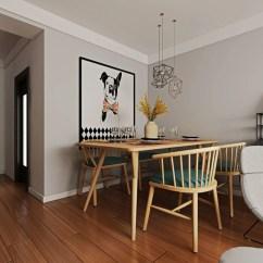 Tall Table And Chairs For Kitchen Island 餐厅只有3平米空间 这样搞满满格调 天天快报 厨房在门口的地方 打造的是一个开放式的厨房 餐厅的空间也就变得更小了 为了节省空间把餐厅装的更显雅致 这样吧台后面摆放餐桌椅 个性的魔豆吊灯的点缀装饰 让