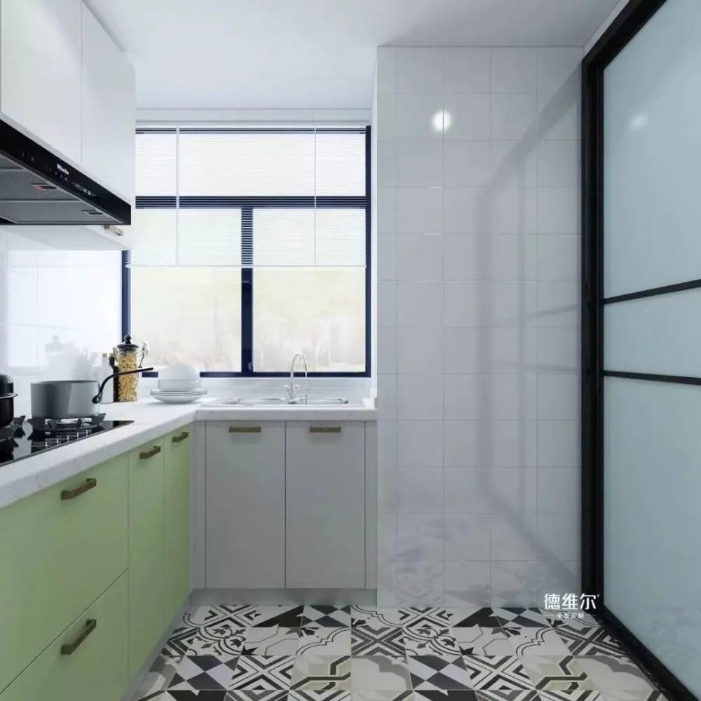 open kitchen sink refrigerator 小户型的厨房做个 u型 橱柜可以吗 天天快报 开放式厨房吧 说回这个 橱柜 这种橱柜的设计手法好就好在功能方面可以更加全面 正前方是无烟灶台烹饪区 左侧是切菜区和碗筷收纳柜 右侧则是 水槽