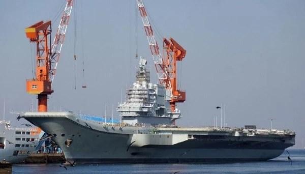 第1艘國產航母正在快馬加鞭?力爭在海上大閱兵之前交付