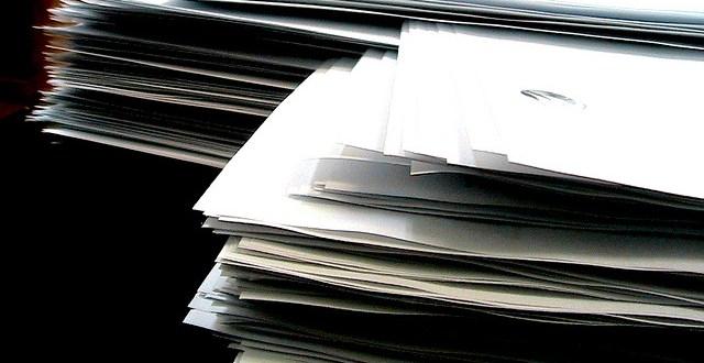 NCTD is buried in paperwork