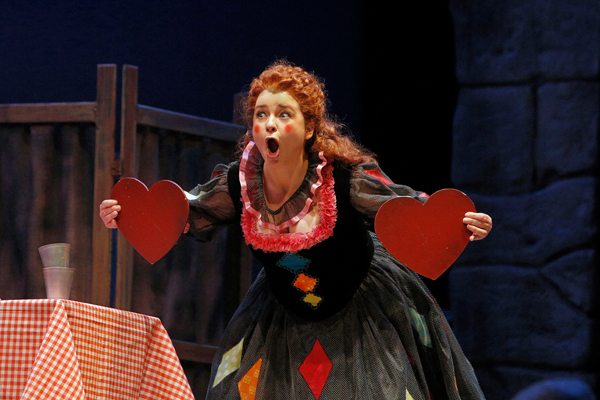 Soprano Adina Nitescu is Nedda in San Diego Opera's PAGLIACCI. The San Diego Opera is among the top recipients of supervisor grant money. Credit: Cory Weaver & San Diego Opera.