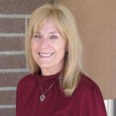 Donna Woodrum, a candidate for the San Diego Community College District's Board of Trustees, in her campaign website photo.