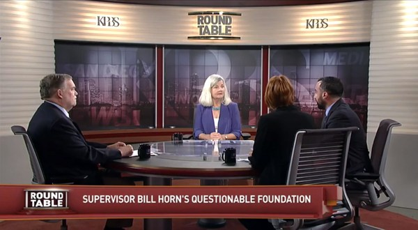 Supervisor Horn's Basic Faith on KPBS Roundtable