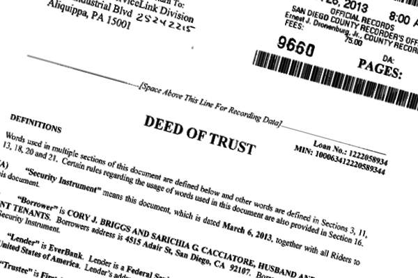 More contradictions found in Briggs-Cacciatore land records