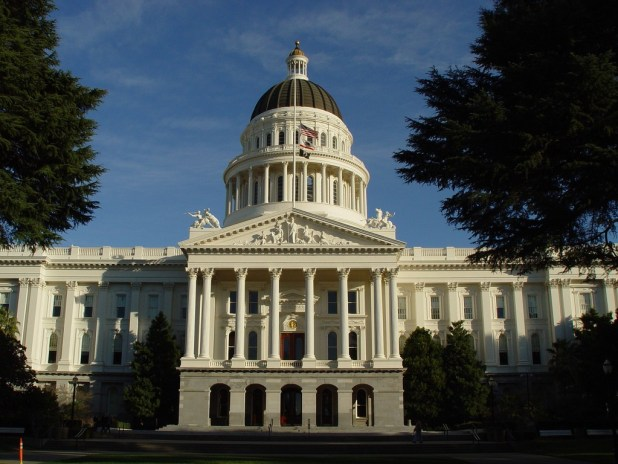 California State Capitol in Sacramento. Photo by Franco Folini, Flickr
