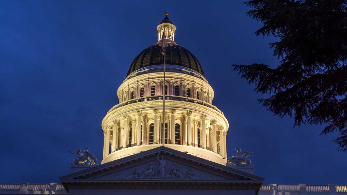 California State Capitol in Sacramento. Photo by Jeff Turner, Flickr
