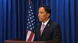 City Council President Todd Gloria talks about the minimum wage ordinance passed by the San Diego City Council on July 14, 2014. Nicholas McVicker, KPBS
