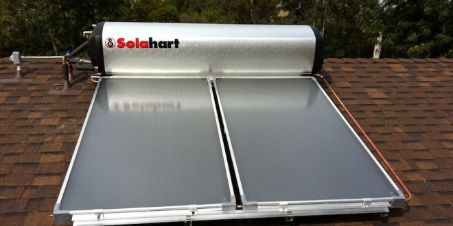 Sun shines in San Diego, but few install solar hot water