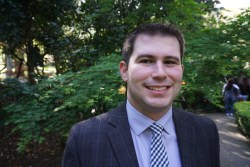 Nick Lapis is legislative coordinator with Californians Against Waste, which advocates for elimination of food waste and other organics from landfills as well as other pollution reduction measures. 2016, Nick Lapis.
