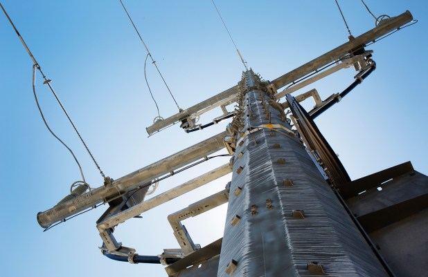 Transmission lines to connect Otay Mesa Energy Center to the grid cost more than $200 million, a cost borne by ratepayers. June 2016, Megan Wood, inewsource
