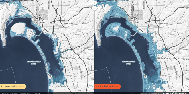 Mapping tools let you see San Diego's future flooding