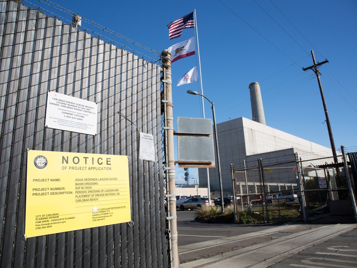 The new Carlsbad power plant will replace the Encina Power Station with a smaller, lower building. Jan 24, 2017. Megan Wood, inewsource.