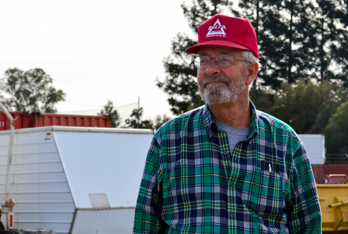 Skip Brown, owner of asphalt paving company Delta Construction, together with construction and trucking interests sued the Environmental Protection Agency to ease a diesel regulation and curtail California air pollution efforts. March 9, 2017. Ingrid Lobet, inewsource