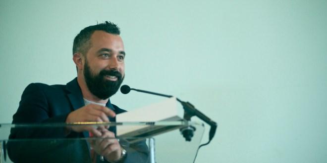 "Reporter Brad Racino's presentation on ""The Future of Tuna Harbor"""