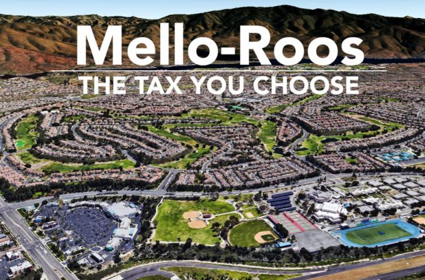 Homes in the eastern Chula Vista neighborhood of Eastlake are among the thousand of properties paying Mello-Roos taxes in San Diego County. Brandon Quester, inewsource / Google Earth