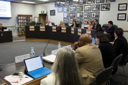 The Sweetwater school district board ratified a contract with Gazelle on Monday night to sell about 10,300 outdated iPads. July 10, 2017. Megan Wood, inewsource