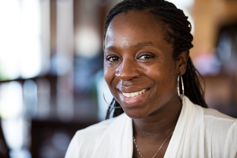 Lase Ajayi is a Scripps Palliative Care and Pediatric Hospice physician who trained at San Diego Hospice. Megan Wood/inewsource