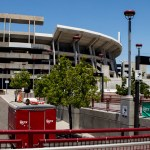 The SDCCU Stadium in Mission Valley. May 15, 2018.