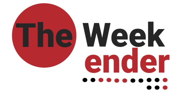 The Weekender for September 29