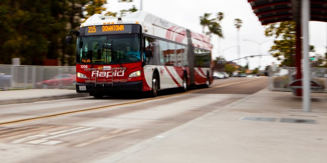 $44 million spent on San Diego bus rapid transit route that isn't rapid