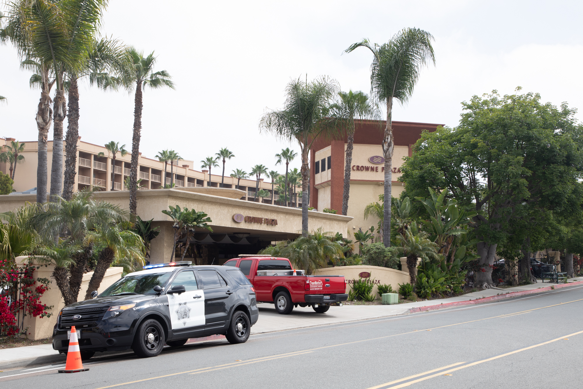 Wanted posters of inewsource reporters circulate at county's COVID-19 hotels