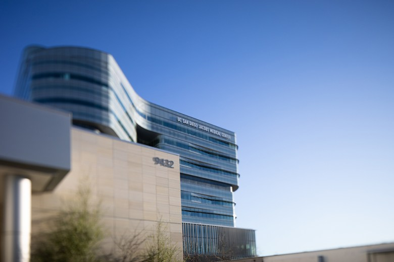 The UC San Diego Jacobs Medical Center is shown on Feb. 1, 2020.(Zoë Meyers/inewsource)