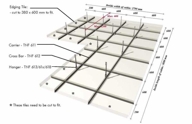 Ceiling Grid Layout Integralbook Com