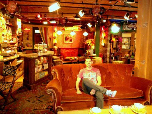 Bar 'Central Perk' de la serie Friends