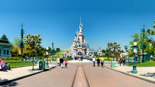Disneyland Park. Imagen: www.disneylandparis.fr
