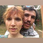 Eder Camargo e Natalia Timerman