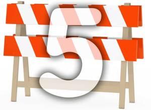 Las 5 Barreras