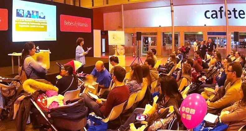Ponencia de Infancia en Positivo en la Feria Bebés&Mamás en Madrid