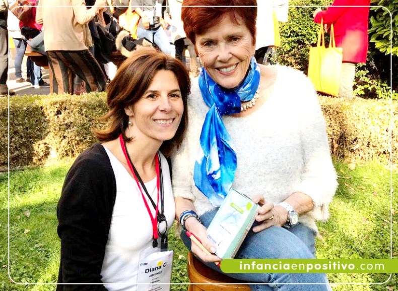 Diana Jimenez con Jane Nelsen