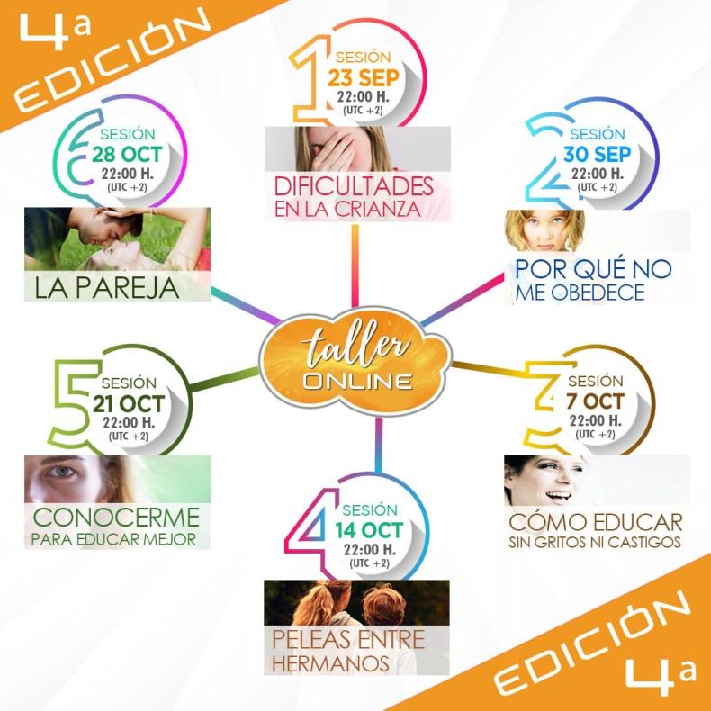 TALLER ONLINE DISCIPLINA POSITIVA 4ª EDICIÓN